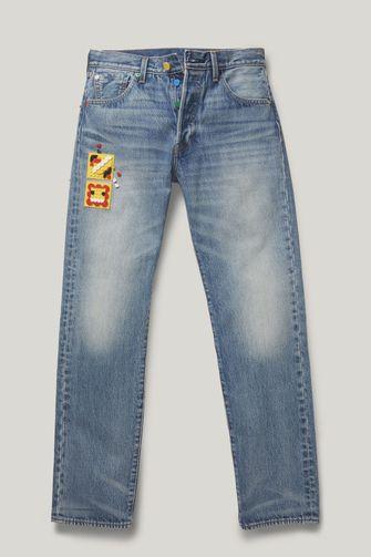 lego, levi's, collectie, 501 jeans