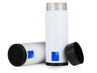 slimme waterfles om voldoende water te drinken