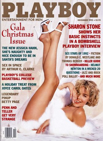 sharon stone, 1992, playboy cover