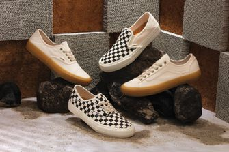 vans eco theory, klassieke sneakers, duurzame versie, sfeershot