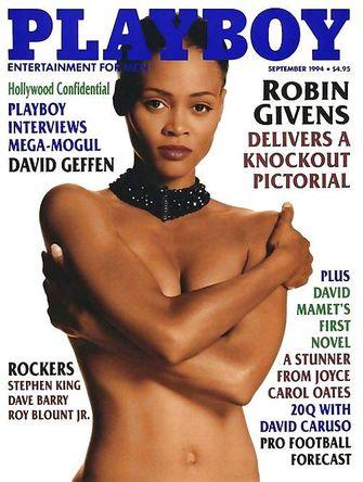 robin-givens-playboy, beroemdheden, jaren 90