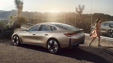 bmw i4, iconische auto's, 2021