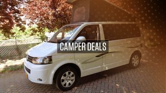 Camper occasions: drie gave campers