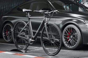 Mercedes-Benz EQ Formula E Team eBike, auto