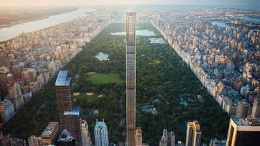 steinway tower, wolkenkrabber, new york, central park, shop architects