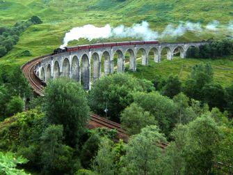 West Highland Line, trein, vakantie, treinreizen, groot-brittannië