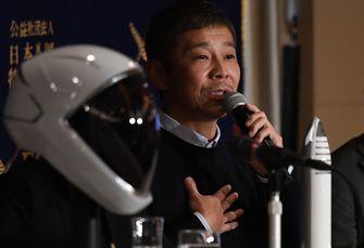 Yusaku Maezawa, spacex, maan, moon