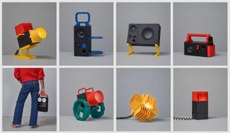 IKEA FREKVENS, speaker, lichtinstallatie