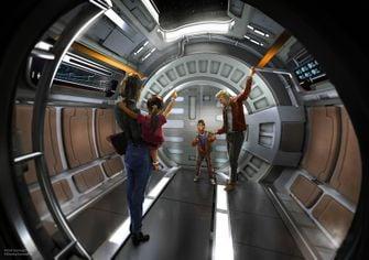 Star Wars: Galactic Starcruiser Lightsaber Training Disney