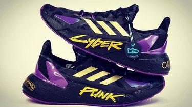 adidas, cyberpunk 2077, sneakers, X9000L4