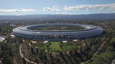 Het nieuwe kantoor van Apple van binnen
