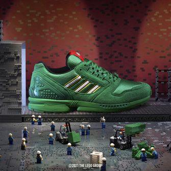 adidas ZX 8000 x LEGO, sneakers, primaire kleuren, groen