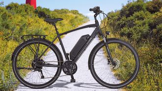 elektrische fiets, e-bike, aldi, folder, stunt