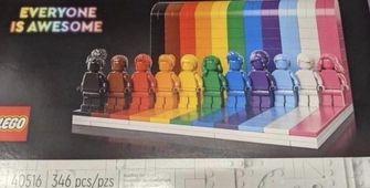 lego, pride, everyone is awesome, minifiguren