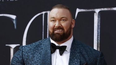 The Mountain Hafthor Björnsson Eddie Hall