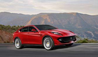 Ferrari Purosangue, iconische auto's, 2021