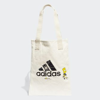 linnen tas, bart simpson, adidas, the simpsons