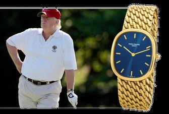 Patek Philippe Golden Ellipse, favoriete horloges, donald trump