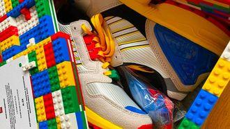 LEGO, Adidas, ZX 8000 sneakers, schoenendoos