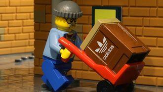 ZX 8000 Bricks, lego, adidas, sneakers, primaire kleuren