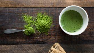 matcha, groene thee, metabolisme, versnellen, afvallen, stofwisseling