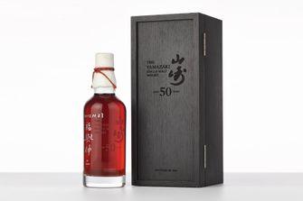 Yamazaki 50 jaar oude whisky