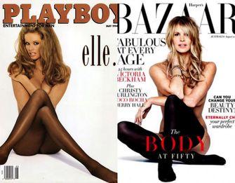 Elle Macpherson, playboy, modellen, beroemdheden, jaren 90