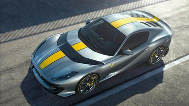 ferrari limited edition v12, 812 superfast