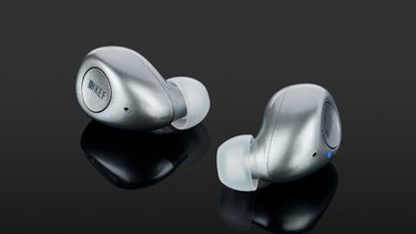kef mu3, draadloze oordopjes, active noise cancelling, apple airpods