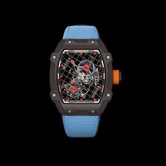 richard mille, RM 27-04 Tourbillon, rafael nadal, 2020, roland garros, horloge, 1 miljoen, snaren