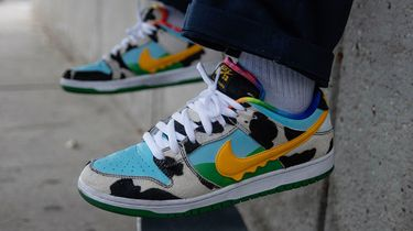 Nike SB, Ben & jerry's, chunky dunky, sneakers, skate, ijs
