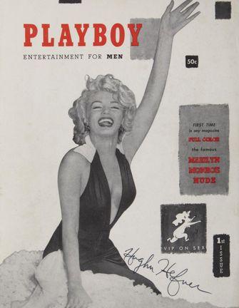marilyn monroe, playboy cover