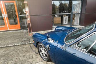 elektrische porsche 912, frank schmidt