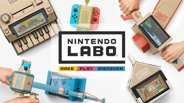 Nintendo Labo vanaf 27 april beschikbaar