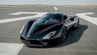 ssc tuatara, snelste auto ter wereld