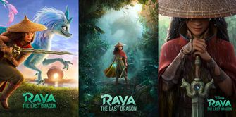 raya and the last dragon trailer Disney+