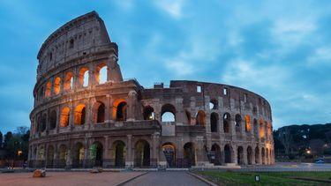 colosseum, rome, nieuwe vloer, renovatie, gladiator