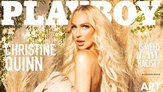 Christine Quinn, zwanger, zwangere, netflix, selling sunset, playboy, cover