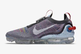 Nike Air VaporMax 2020 FK, sneakers, gerecyclede materialen, smoke grey