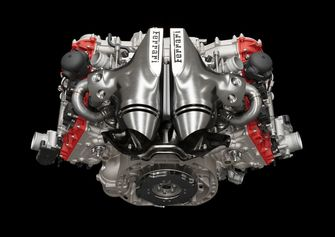 Ferrari 296 GTB, motore