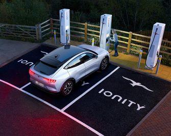 elektrische auto, ford mustang mach-e, te koop