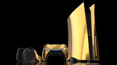Truly Exquisite, gouden, 24 karaats goud, playstation 5, ps5, 2k gold edition (1)