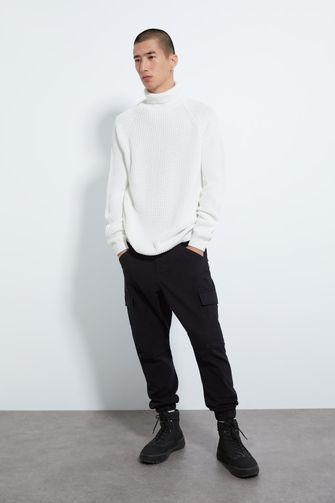zara, cargo pants, broek met zakken aan de zijkant, trend, stijlvol