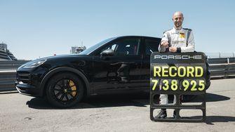 snelste SUV Nürburgring, Porsche Cayenne