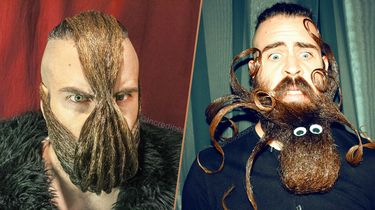 Bizarre baard