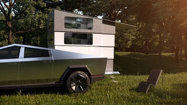 Cyberlandr, Tesla Cybertruck, Camper