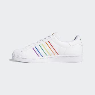 adidas superstar, pride, sneakers, 2020