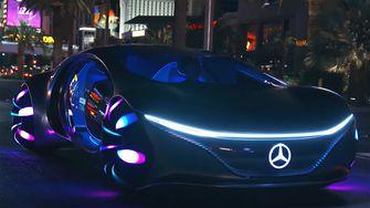 Mercedes-Benz VISION AVTR, mind control, gedachten, besturen, brein, bci, auto