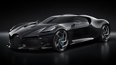 Bugatti La Voiture Noire, duurste auto ooit, productie
