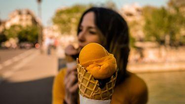 Afvallen ijsje